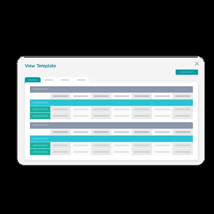 Control and flexibility in menu design