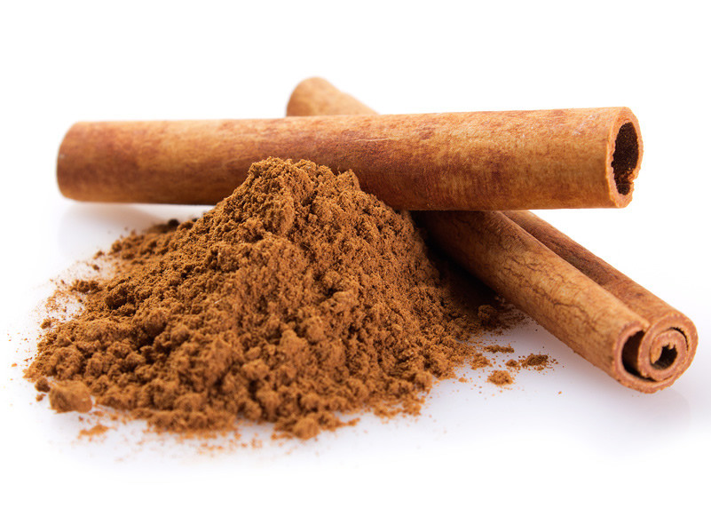 Add ground cinnamon to your protein shake
