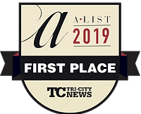 The First Place Winner for A-List. Best Spa in Tri-City in 2019.