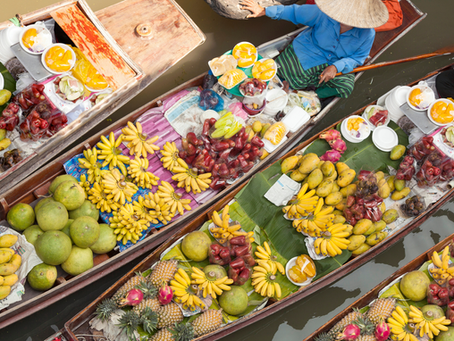 5 Must-Visit Water Markets in Thailand