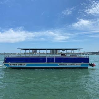 40 passenger boat  River Queen