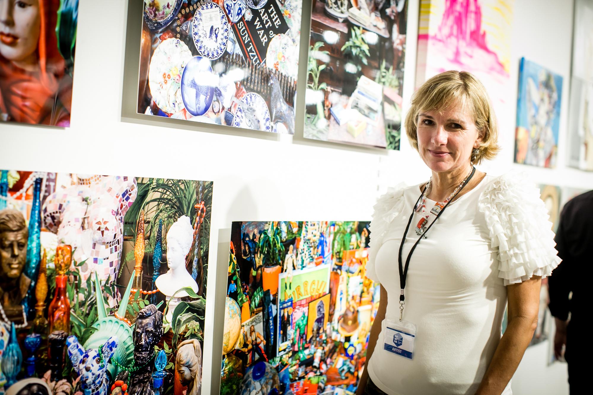 Artist Elizabeth Healey