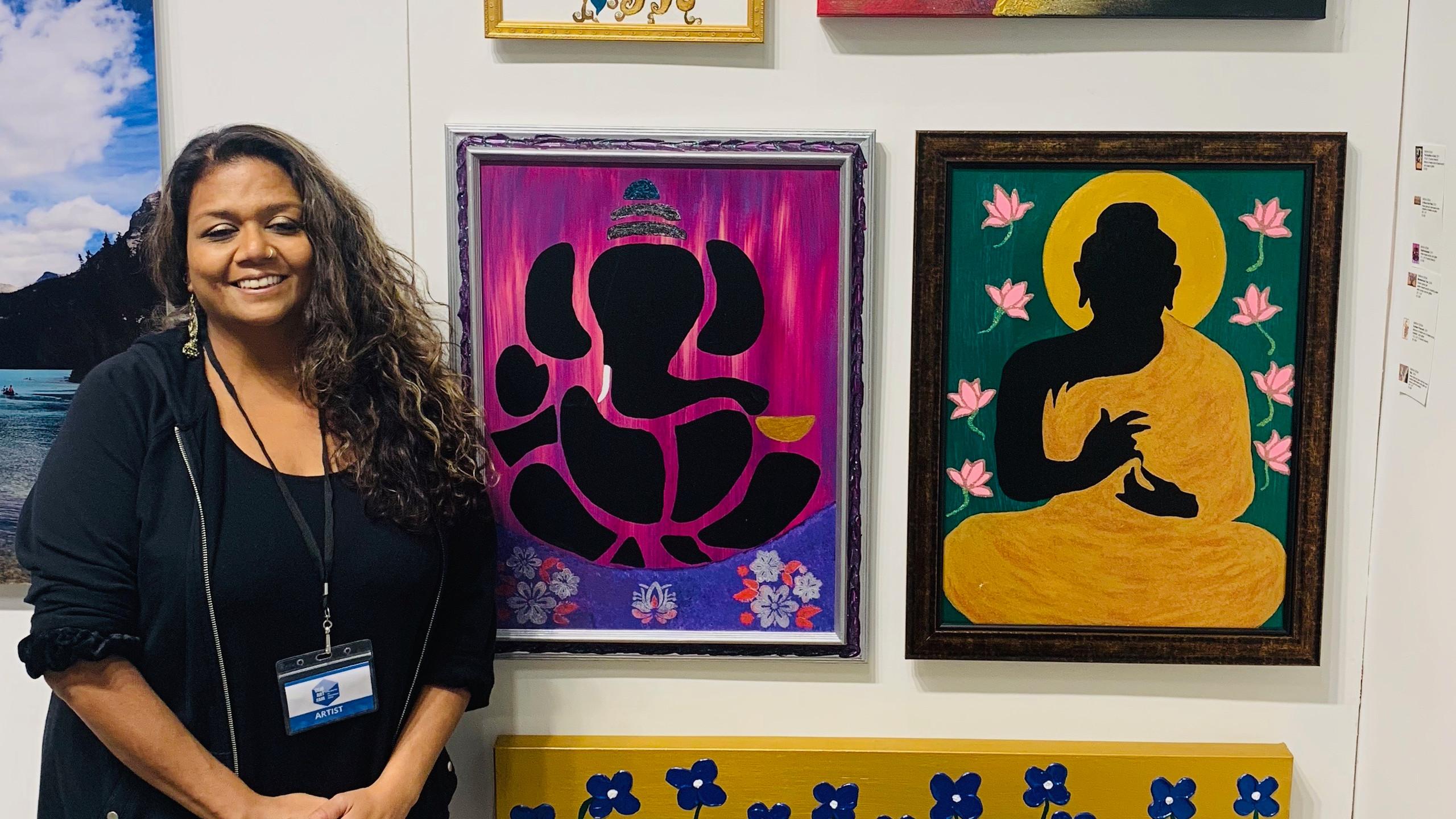 Artist Sneha Desai