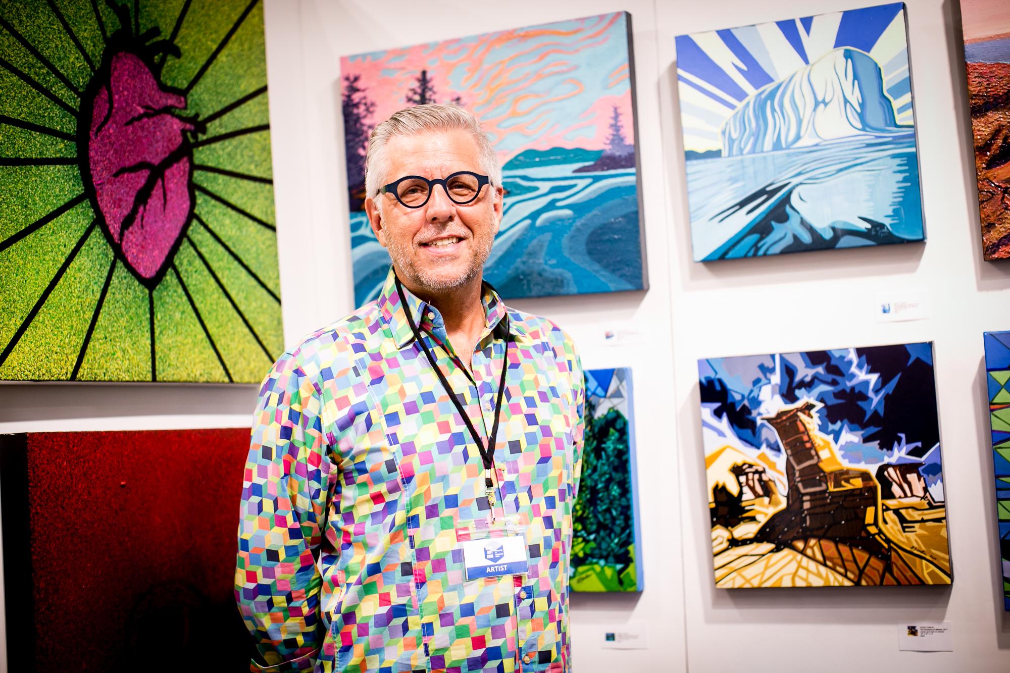 Artist David Tomlin