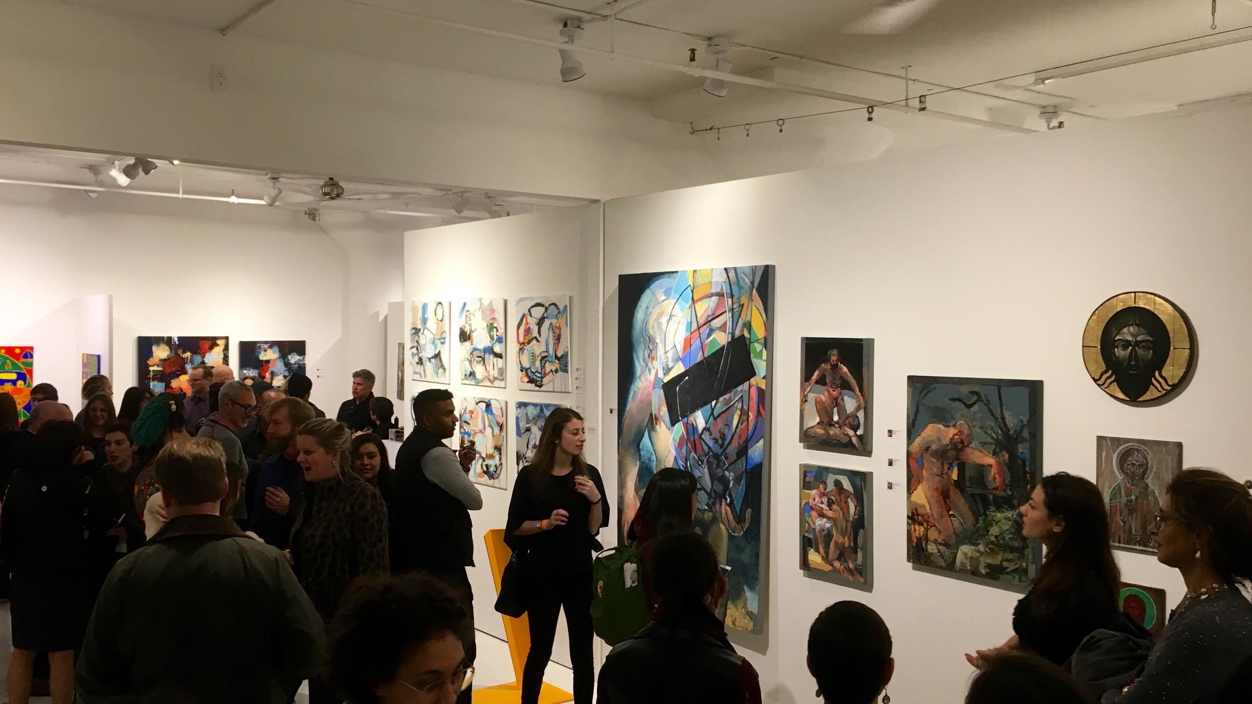 CLIO Art Fair at 508 W. 26 in NY
