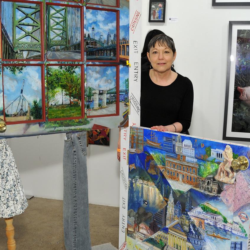 Artist Carol Taylor-Kearney