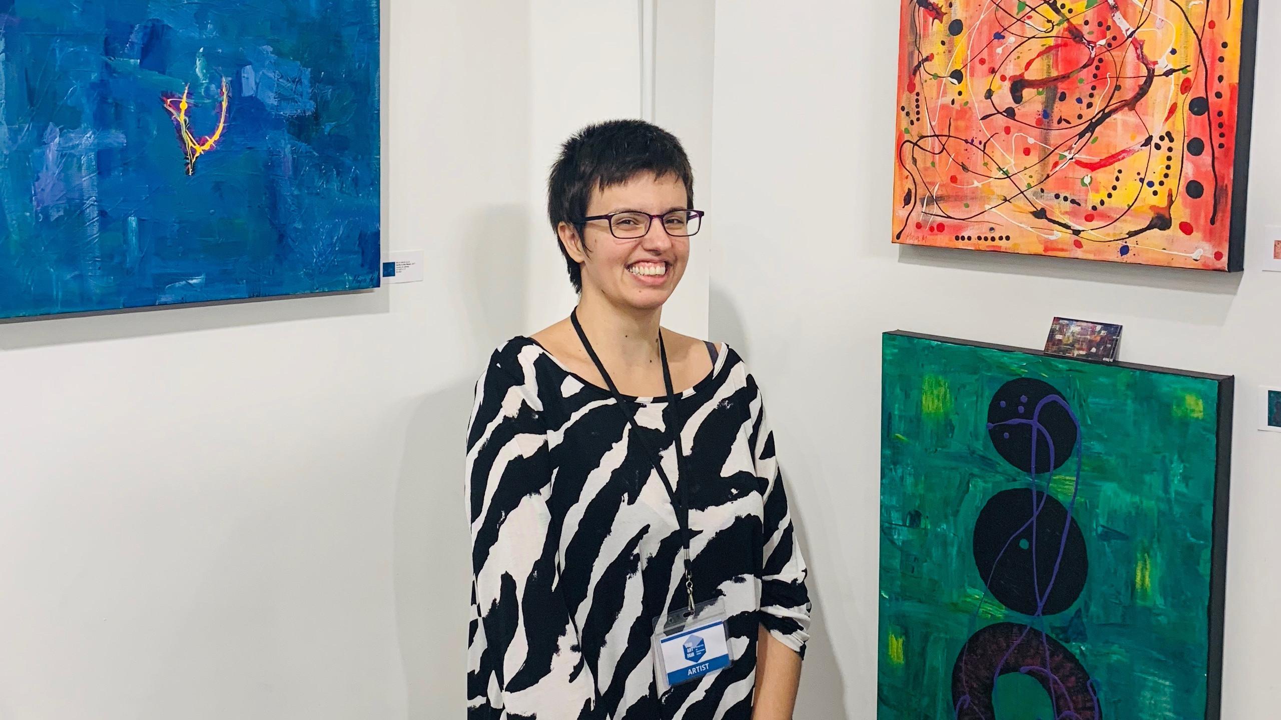 Artist Maja Maglajlic
