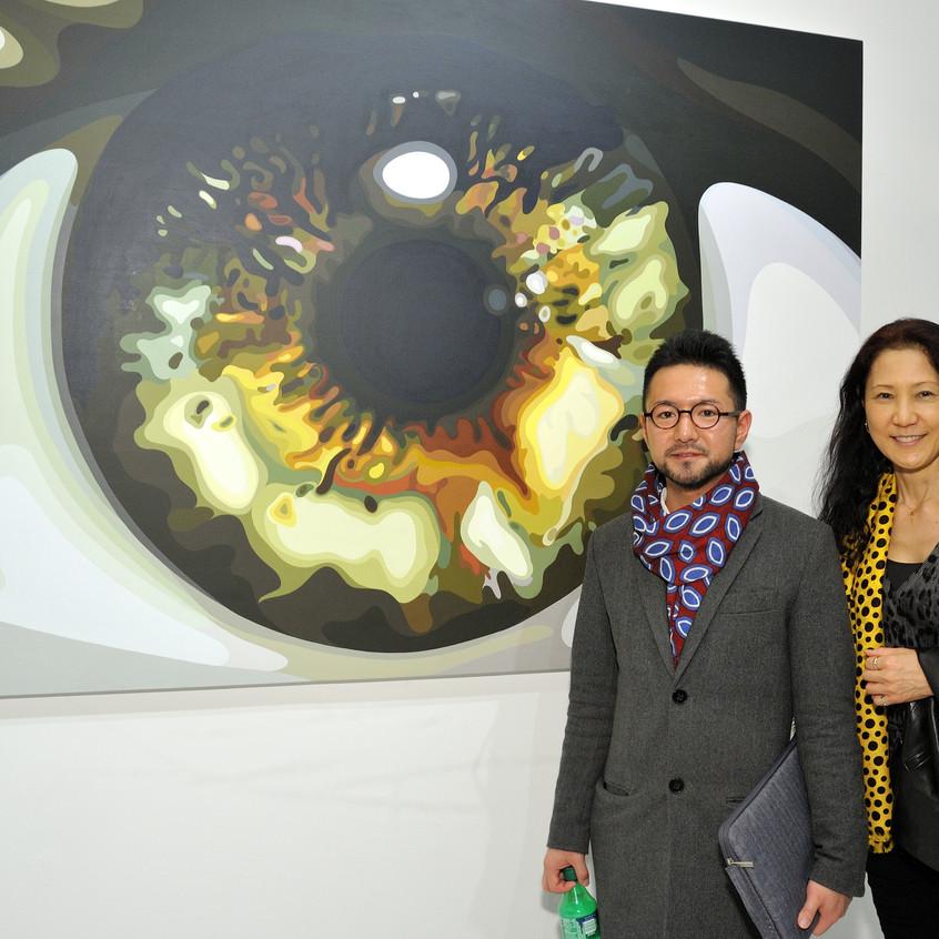 Artist Hitoshi Tsuboyama