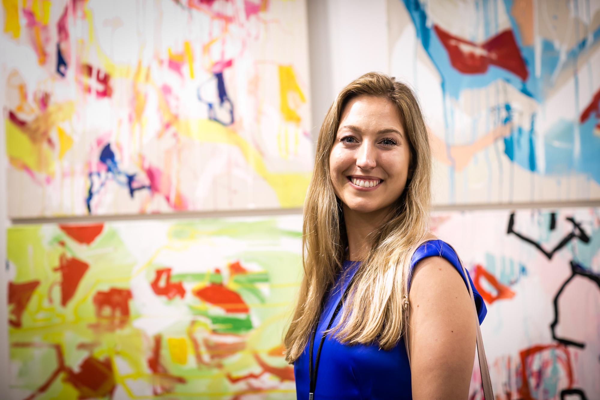 Artist Catherine Lee