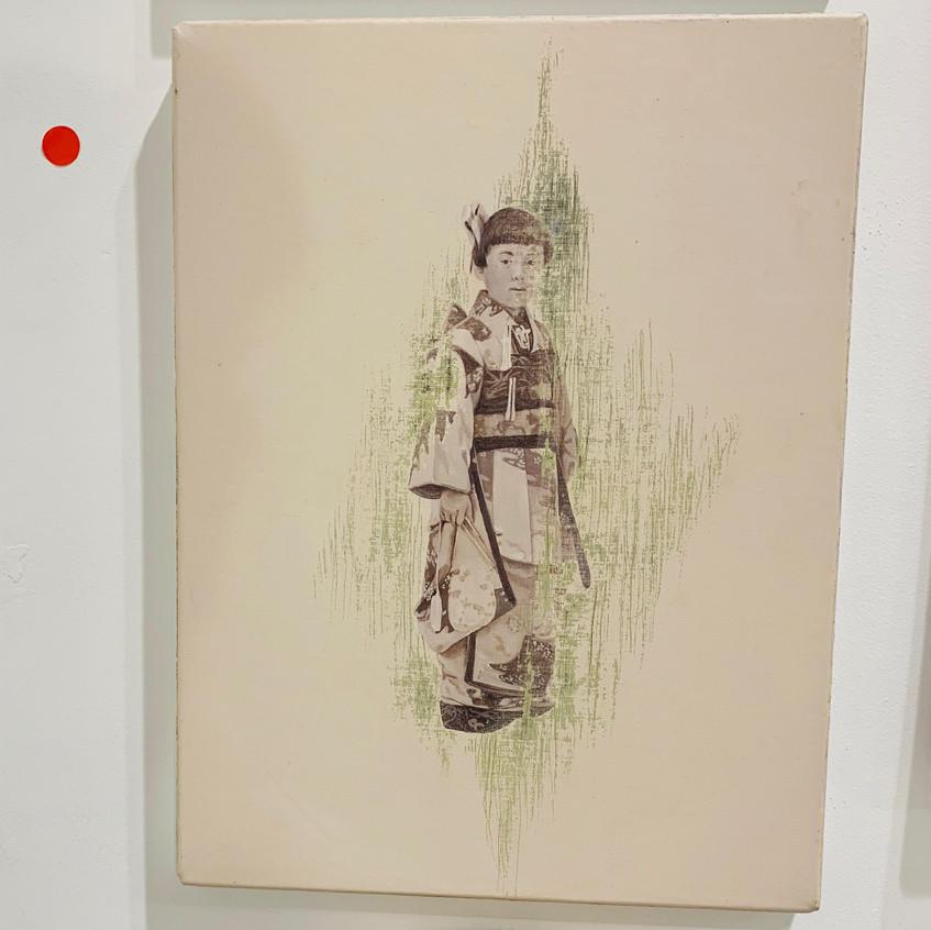 Emerging 2 by Artist Emiko Aida