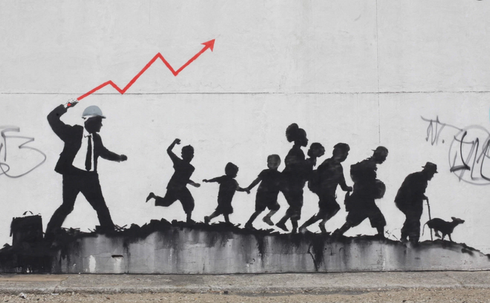 Banksy is back in the city