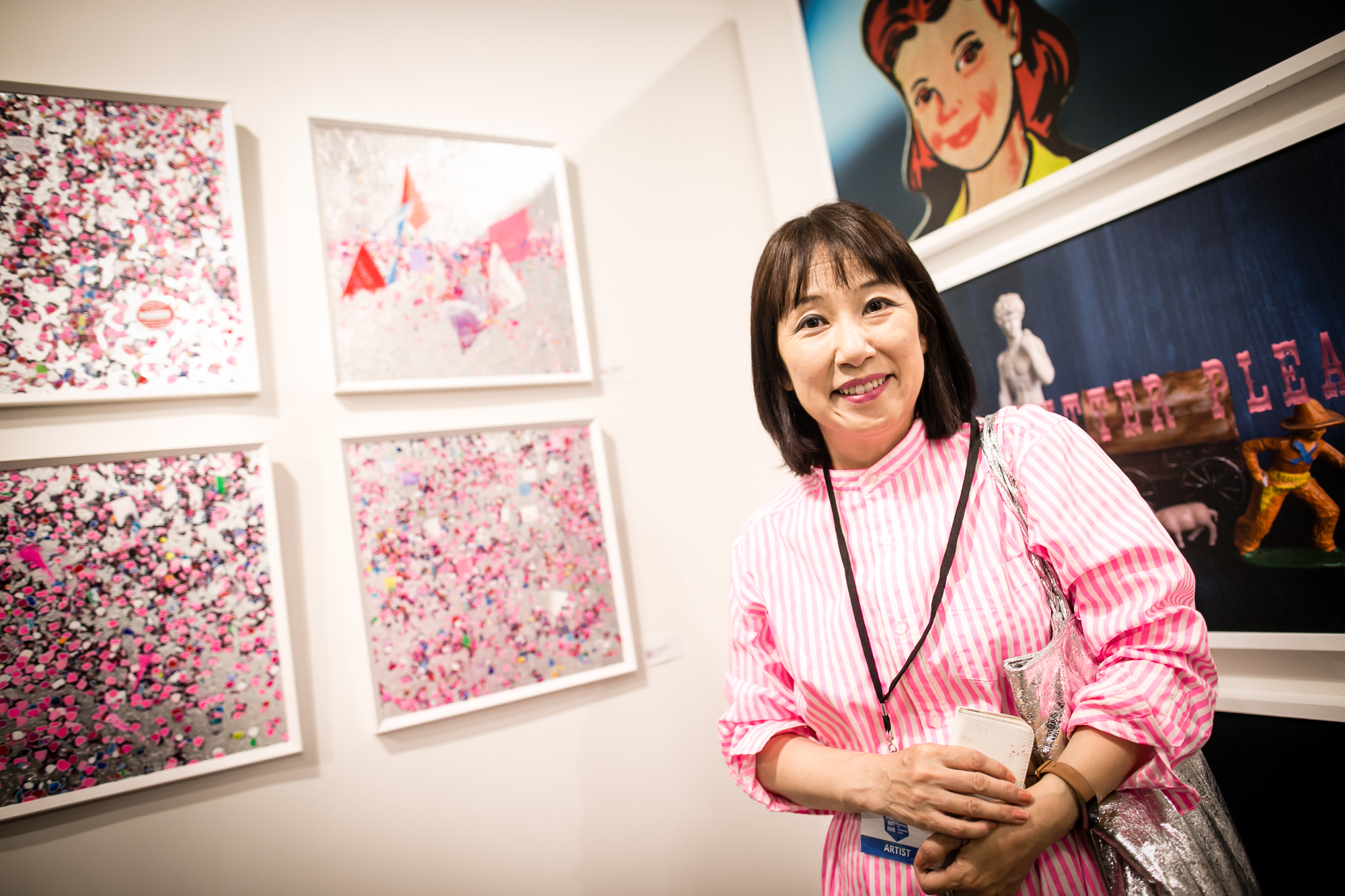 Artist Yumiko Hirokawa