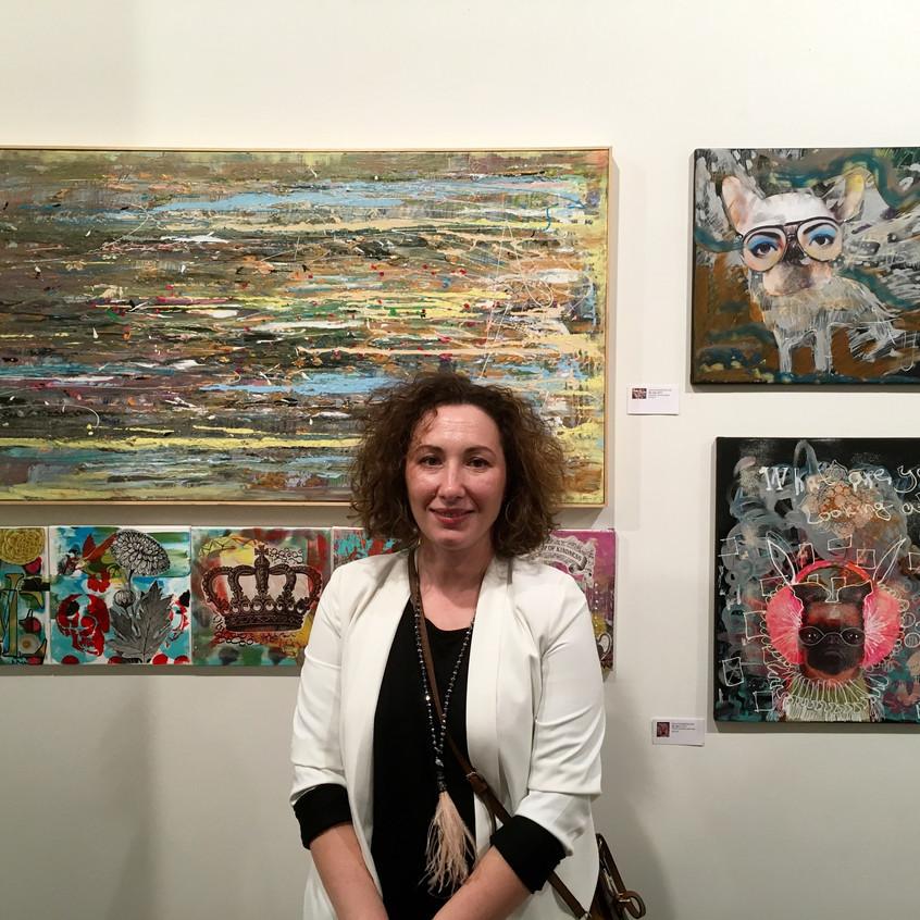 Artist Natia khurstsilava