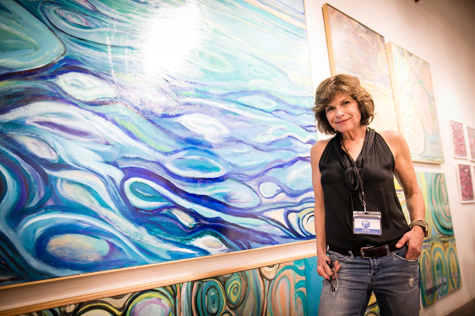Artist Tina Cantelmi