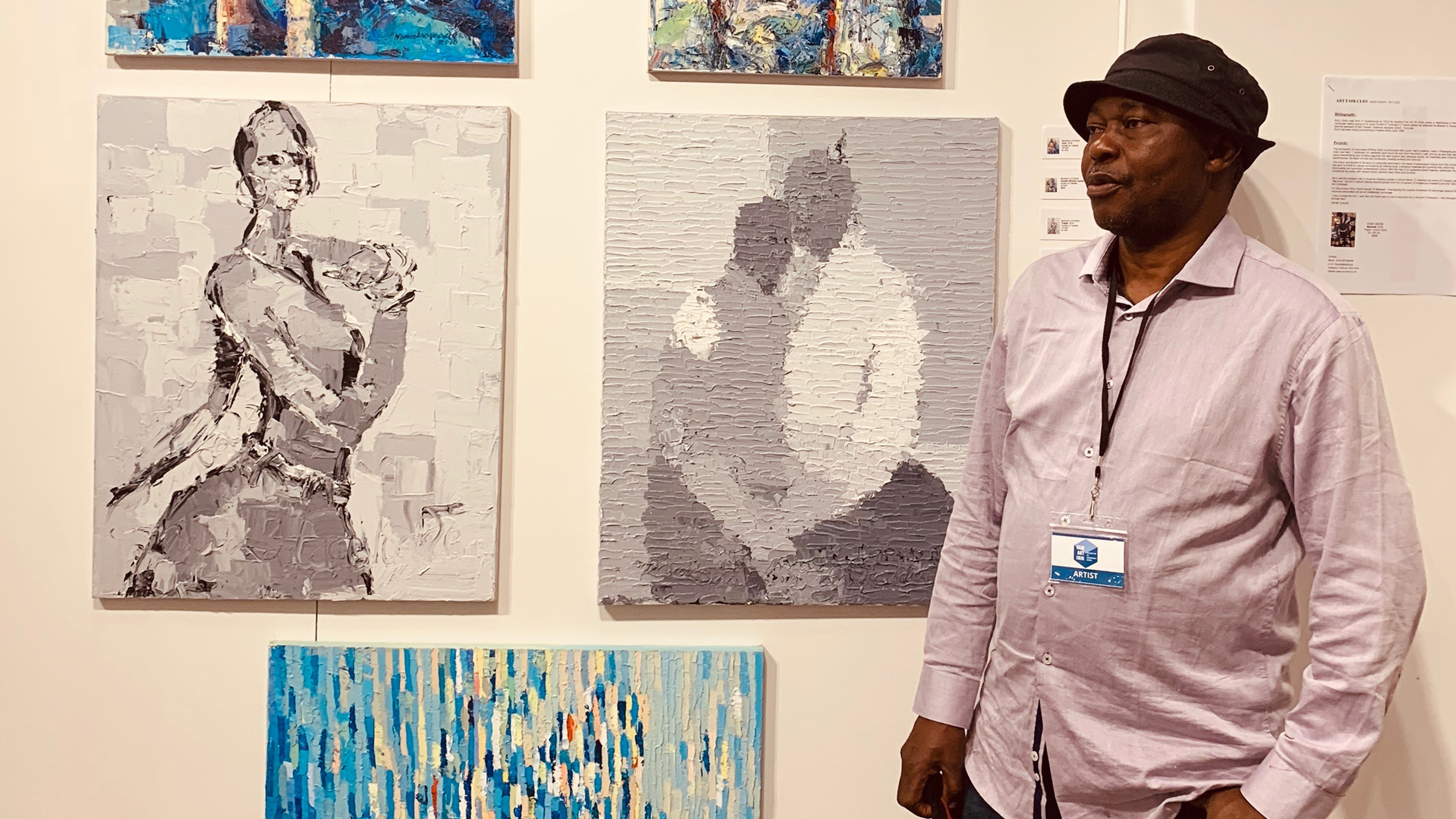 Artist Mukalia Ayoade