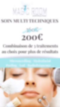 reduction soin visage