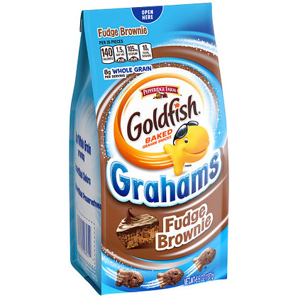 GOLDFISH GRAHAMS - FUDGE BROWNIE