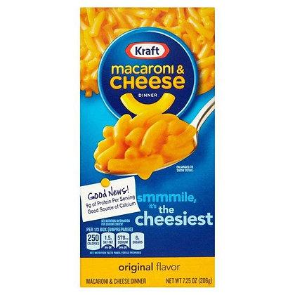 KRAFT MACARONI AND CHEESE 206 g