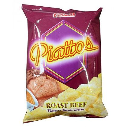 PIATTOS ROAST BEEF FLAVOUR CHIPS