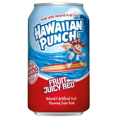 HAWAIIAN PUNCH JUICY RED - SUCCO DI FRUTTA TROPICALE