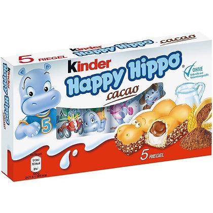 KINDER HAPPY HIPPO CACAO 5 pezzi