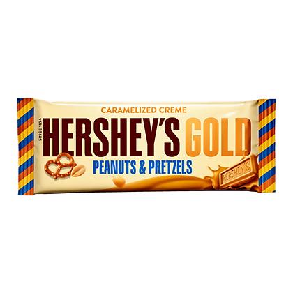 HERSHEY'S GOLD PEANUTS & PRETZELS BAR