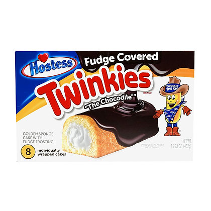 HOSTESS FUDGE COVERES TWINKIES 8 pezzi