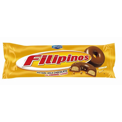 FILIPINOS MILK CHOCOLATE AND CARAMEL FLAVOUR