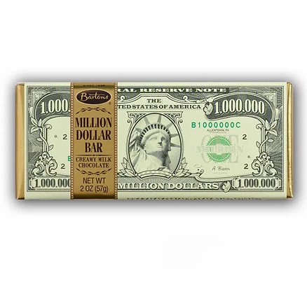 BARTON'S MILLION DOLLAR CHOCOLATE