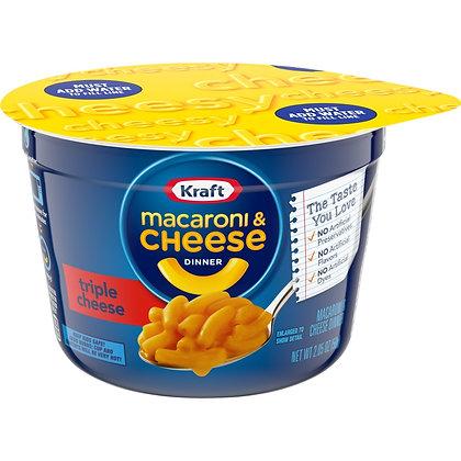 MACARONI AND CHEESE KRAFT TRIPLE CHEESE