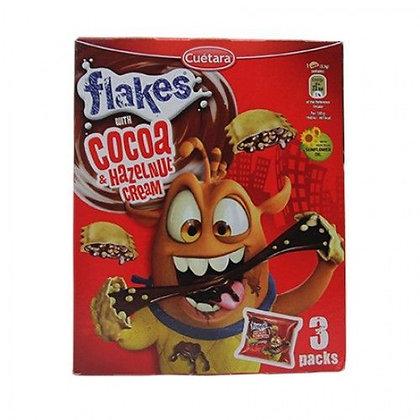 CUETARA FLAKES COCOA & HAZELNUT CREAM
