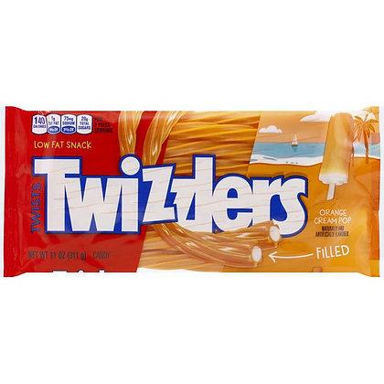 TWIZZLERS ORANGE CREAM POP FILLED TWISTS