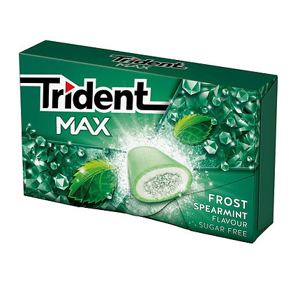 TRIDENT MAX FROST SPEARMINT