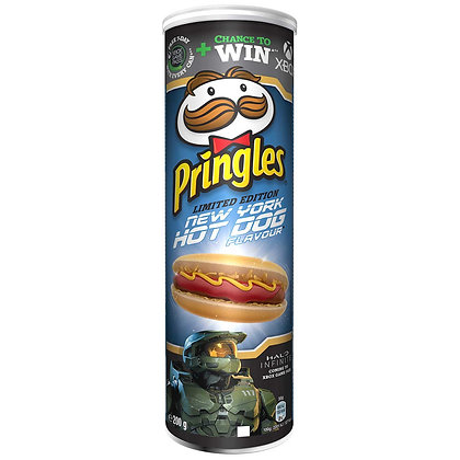 PRINGLES NEW YORK HOT DOG