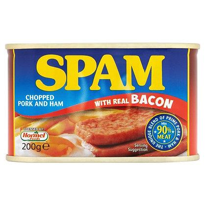 SPAM CHOPPED PORK & HAM WITH BACON