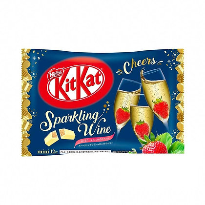 KIT KAT - SPARKLING WINE WITH STRAWBERRIES