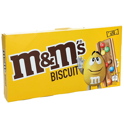 M&M'S BISCUIT X 10
