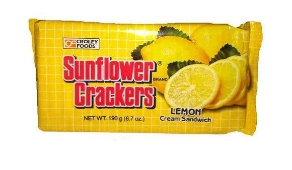 SUNFLOWER CRACKERS LEMON