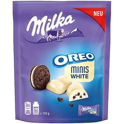 MILKA OREO MINIS WHITE CHOCOLATE