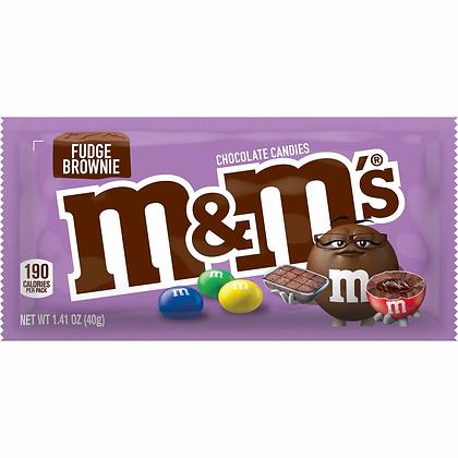 M&M FUDGE BROWNIE