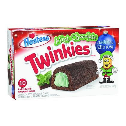 HOSTESS MINT CHOCOLATE TWINKIES PEZZI 10