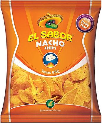 EL SABOR NACHOS CHIPS BBQ - 100 G