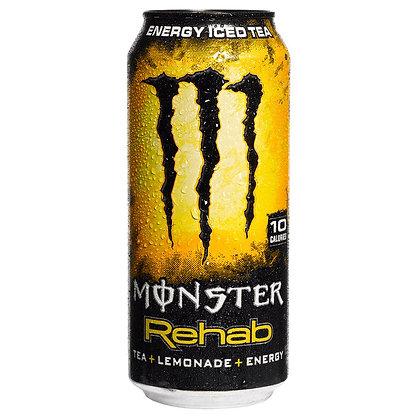 Monster Rehab Energy Lemonade Tea  Il Monster Rehab Energy è una bibita ene TEA