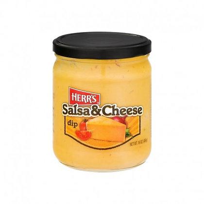 HERR'S SALSA CHEESE DIP