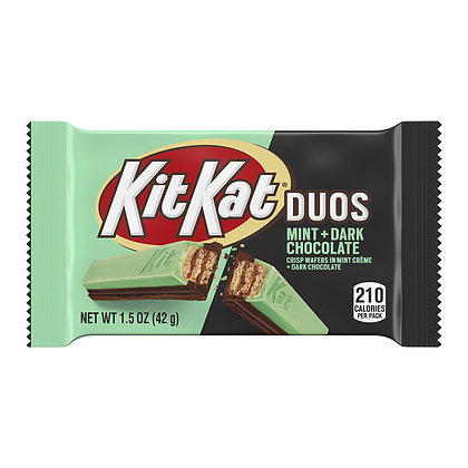 KIT KAT DUOS MINT + DARK CHOCOLATE
