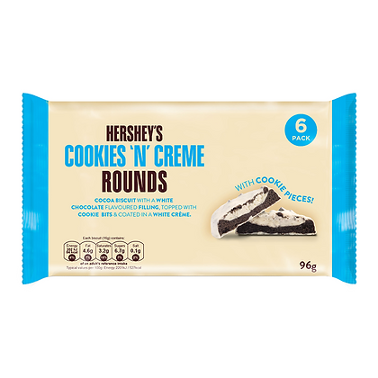 HERSHEY'S COOKIES'N CREME ROUNDS