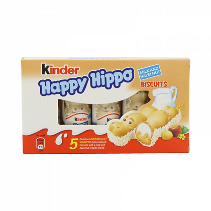 KINDER HAPPY HIPPO NOCCIOLA 5 pz
