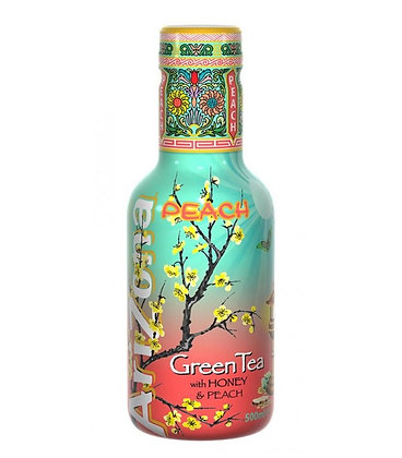 ARIZONA GREEN TEA HONEY & PEACH