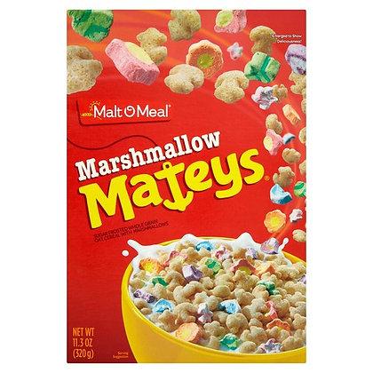 MALT-O-MEAL MARSHMALLOW MATEY'S