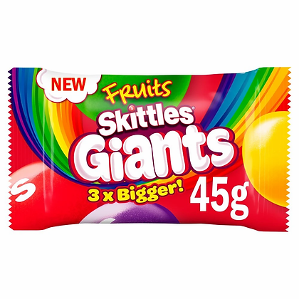 SKITTLES FRUITS GIANTS